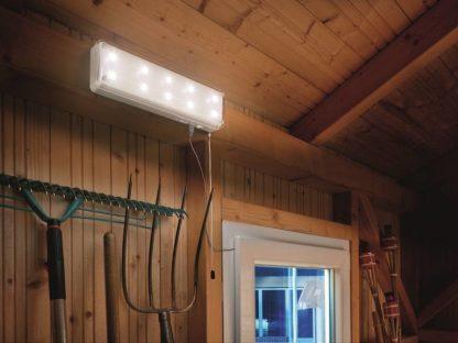 Solar lamp op zonne-energie voor binnen met bewegingsmelder 1