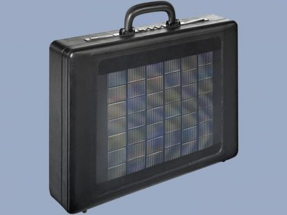 Koffer met zonnepaneel 1