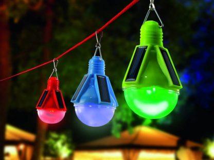Solar party verlichting 3 kleurig 1