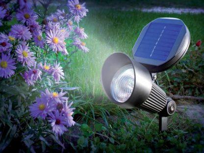 Solar Tuinspot op zonne-energie 1