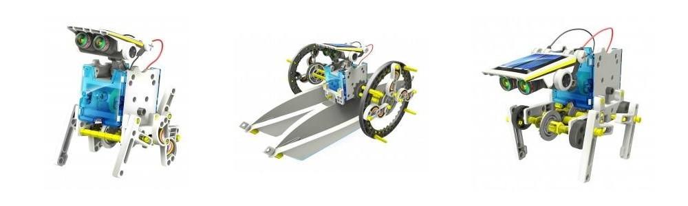 speelgoed robots solar