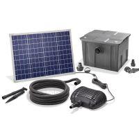 filter installatie op zonne energie