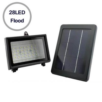 28-LED Super Bright Solar Flood Lig  1