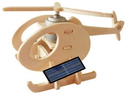 helikopter Solar 3D-puzzel 1