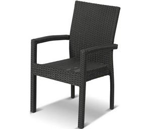 Hartman June Dining Chair Black Zonder Kussen kunststof 1